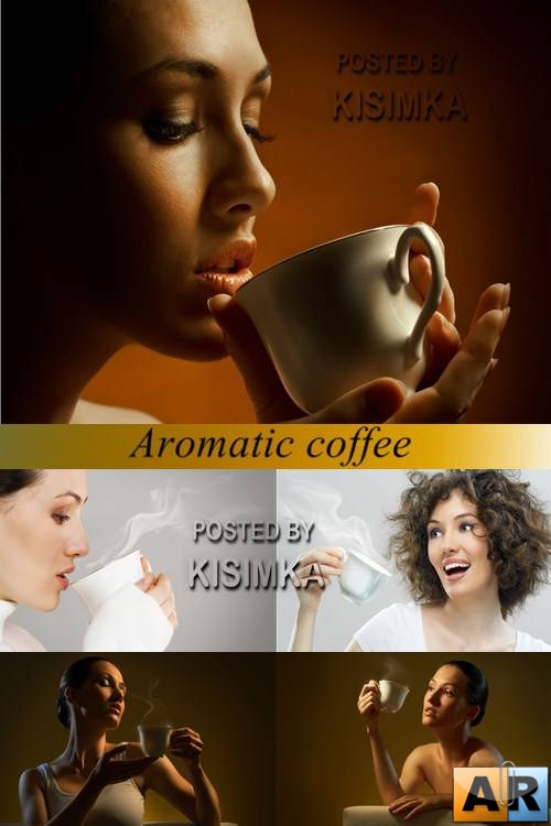 Stock Photo: Aromatic coffee