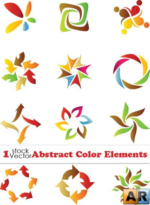 Abstract Color Elements Vector
