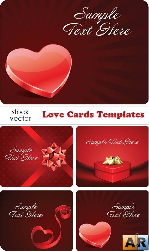 ��������� ������� - Love Cards Templates