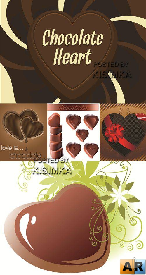 Stock: Chocolate heart