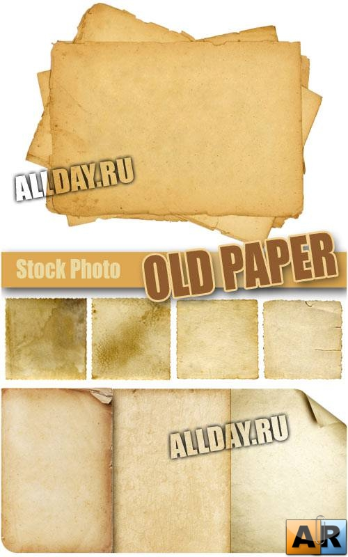 ��������� ������ | Old paper - UHQ Stock Photo
