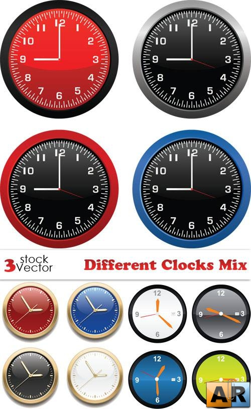Different Clocks Mix Vectors