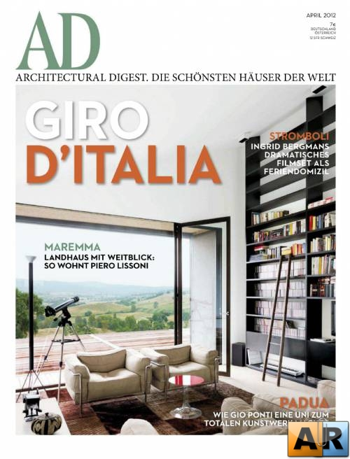 Architectural Digest - April 2012 (Germany)