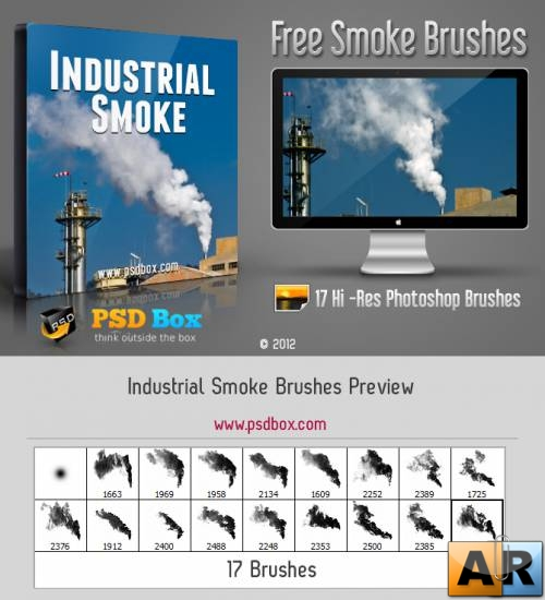 Industrial Smoke Brushes