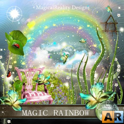 Скрап-набор Magic Rainbow