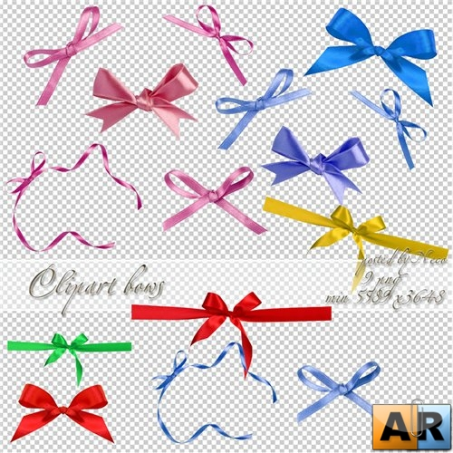 Cliparts bow png - Клипарт банты png