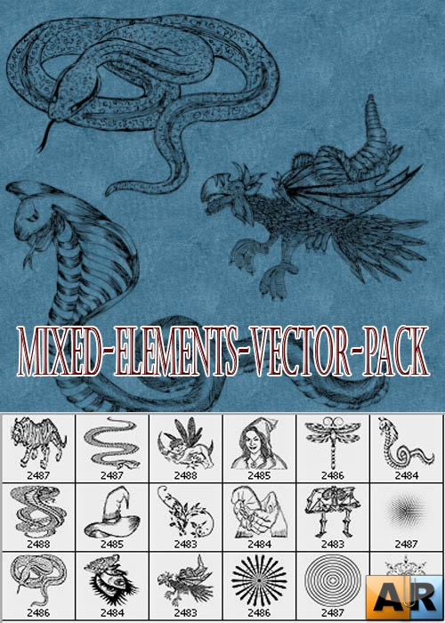Mixed-Elements-Vector-Pack