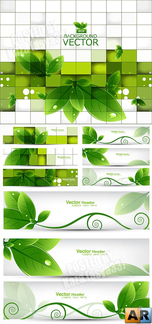 Eco cards & banners